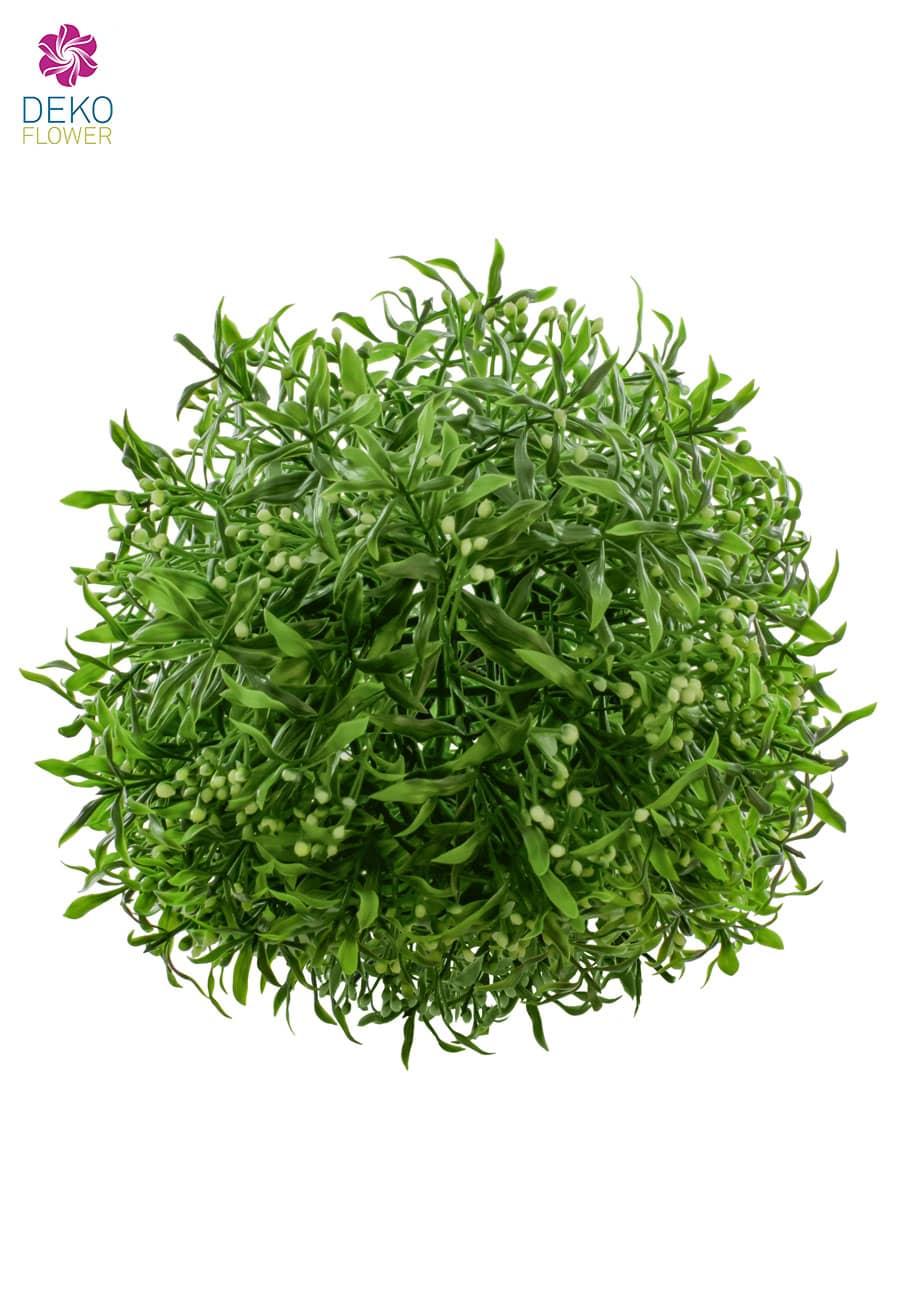 Kunstgraskugel 25 cm grün
