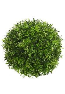 Kunstgraskugel 34 cm grün