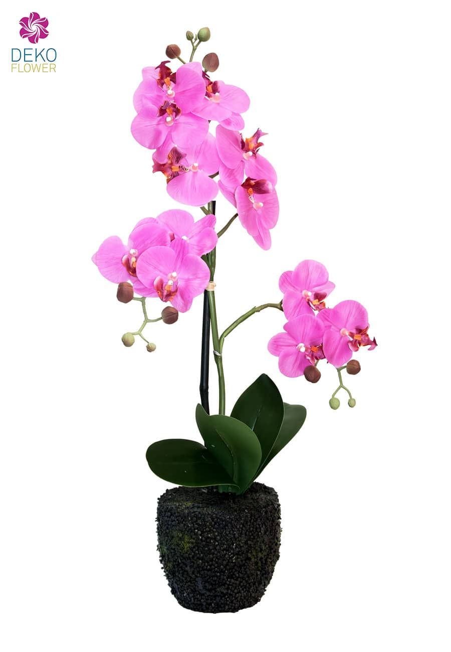 Kunst Orchidee pink 57 cm