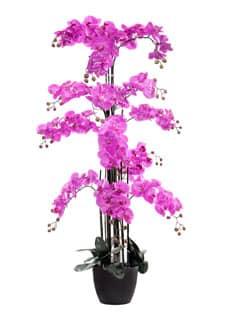 Kunstorchidee XXL pink 145 cm
