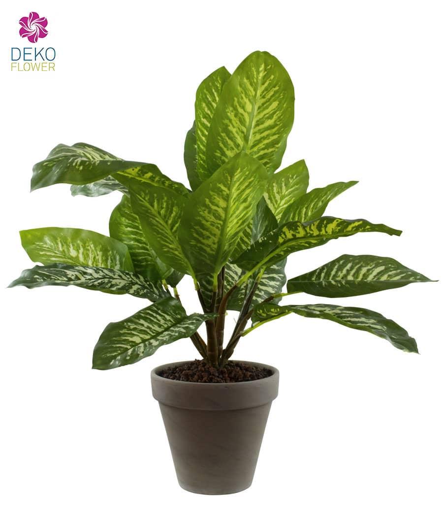 Kunstpflanze Dieffenbach grün 44 cm