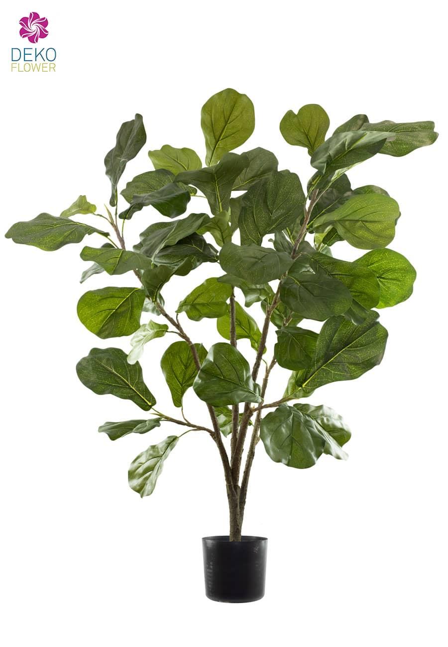 Kunstpflanze Geigenfeige 94 cm grün