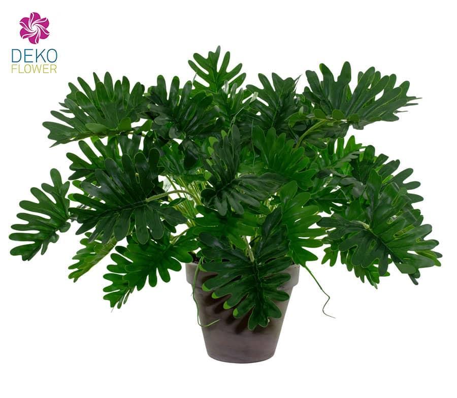 Kunstpflanze Philodendron Selloum 40 cm