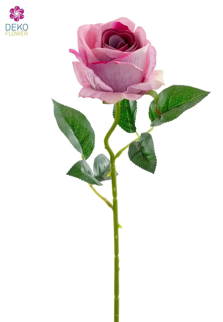 Kunstrosen rosa 51 cm 6er-Pack