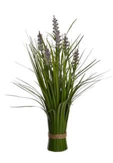 Lavendel Dekogras Bündel 48 cm