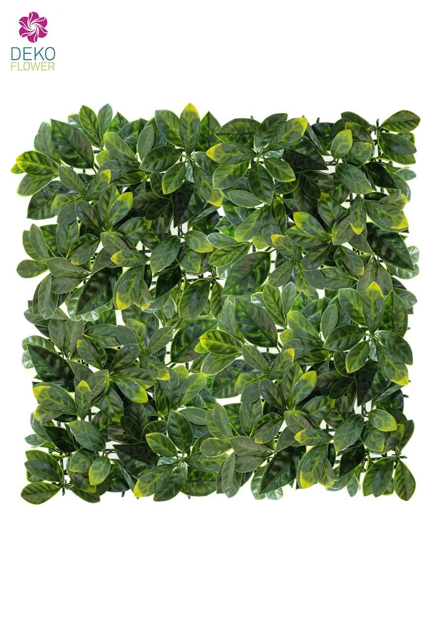 Lorbeer Kunstmatte grün 50 x 50 cm