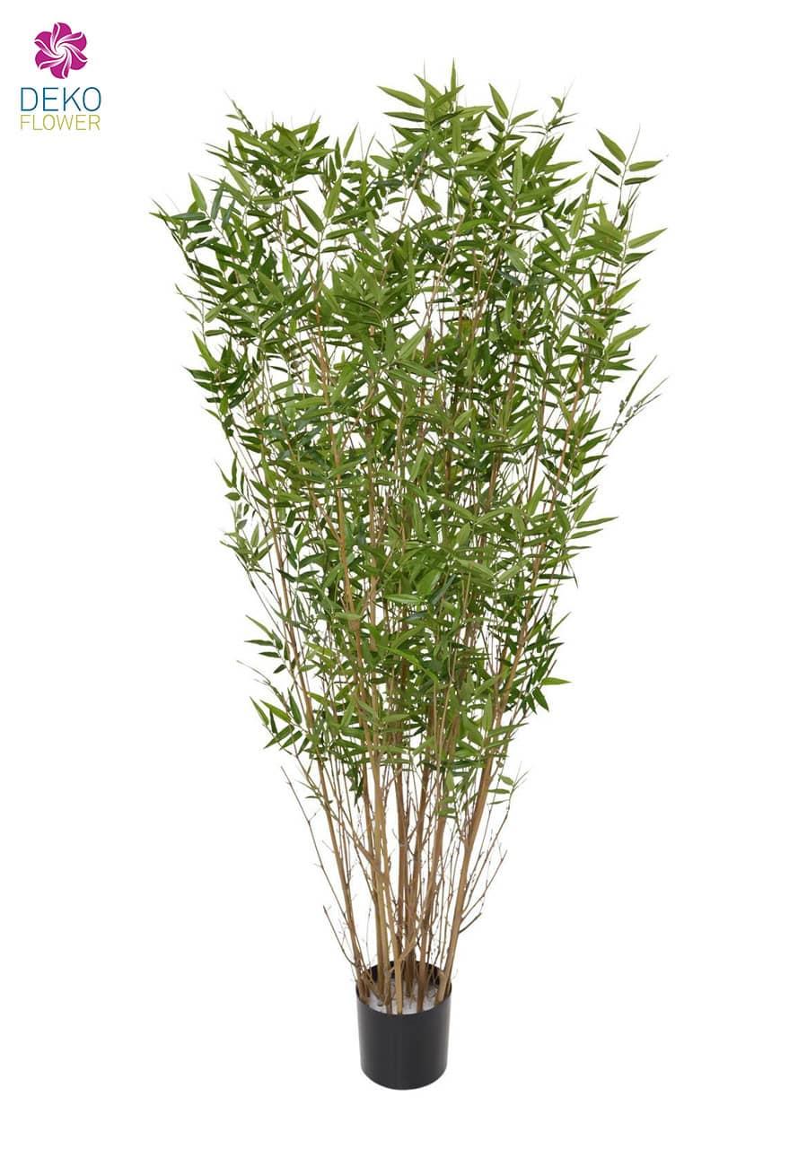 Künstlicher Naturstamm Bambus 165 cm