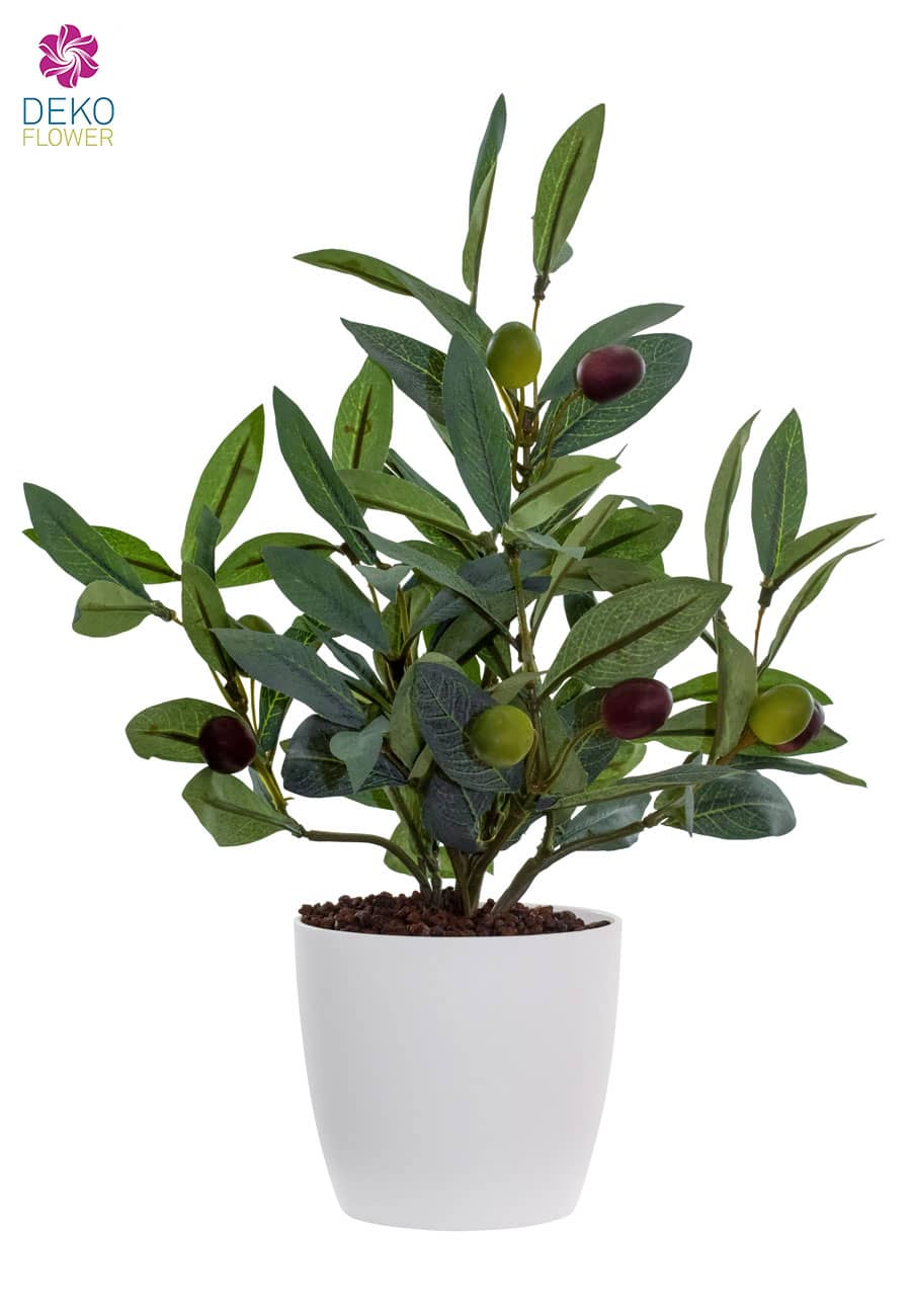 Oliven Kunstpflanze 27 cm