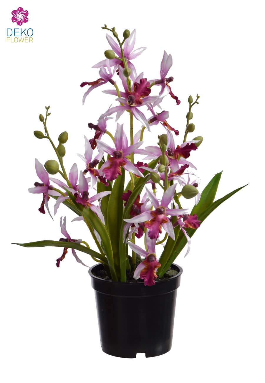 Oncidium Kunstorchidee 35 cm lavendel