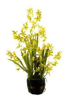 Oncidium Kunstorchidee 69 cm gelb
