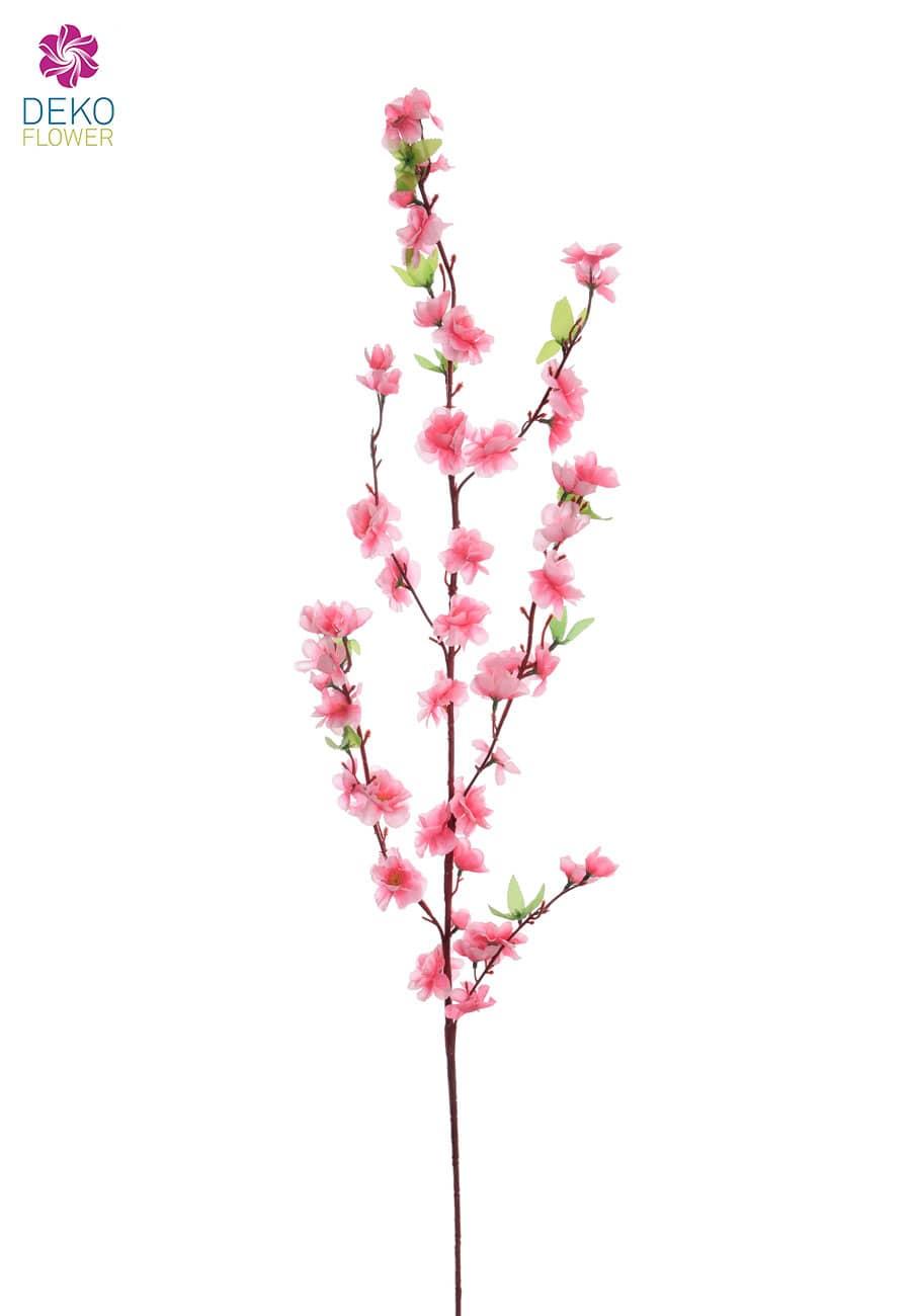 Pfirsichblüten Kunstzweige 120 cm rosa 3er Set