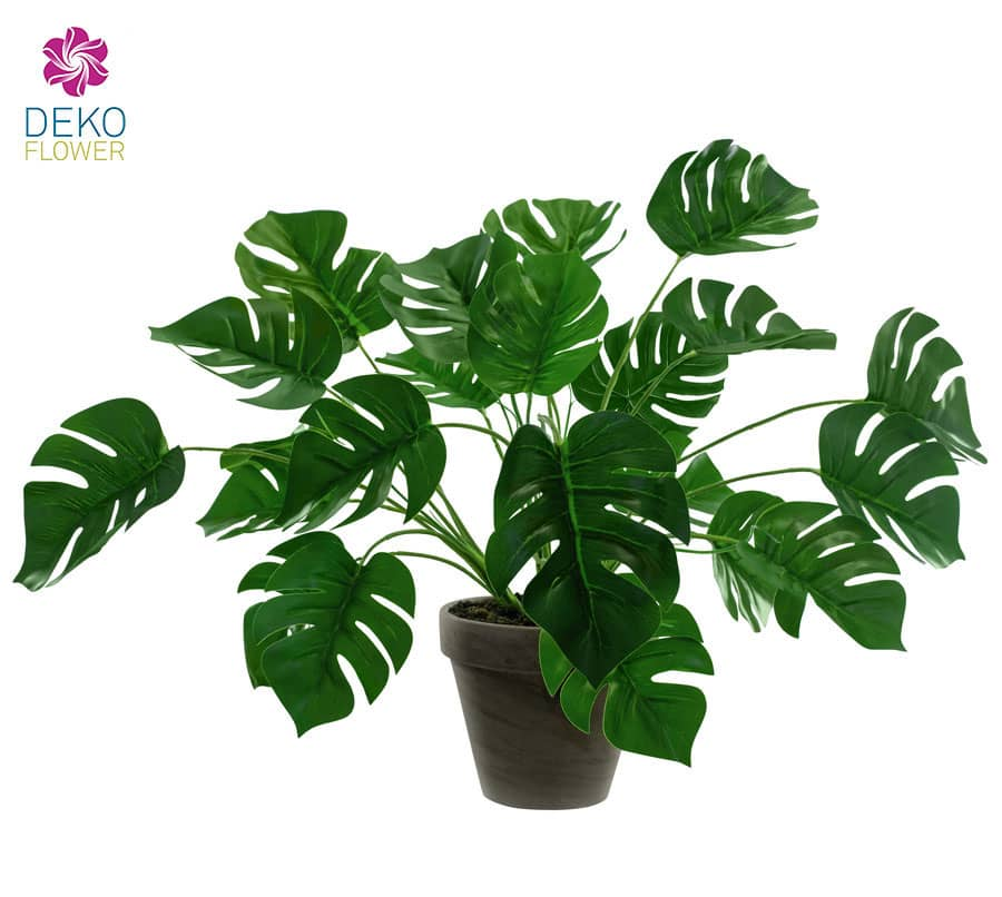 Philodendron Monstera Kunstpflanze 40 cm