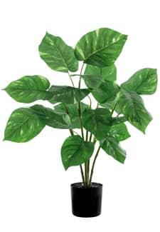 Pothos Kunstpflanze grün im Topf 67 cm