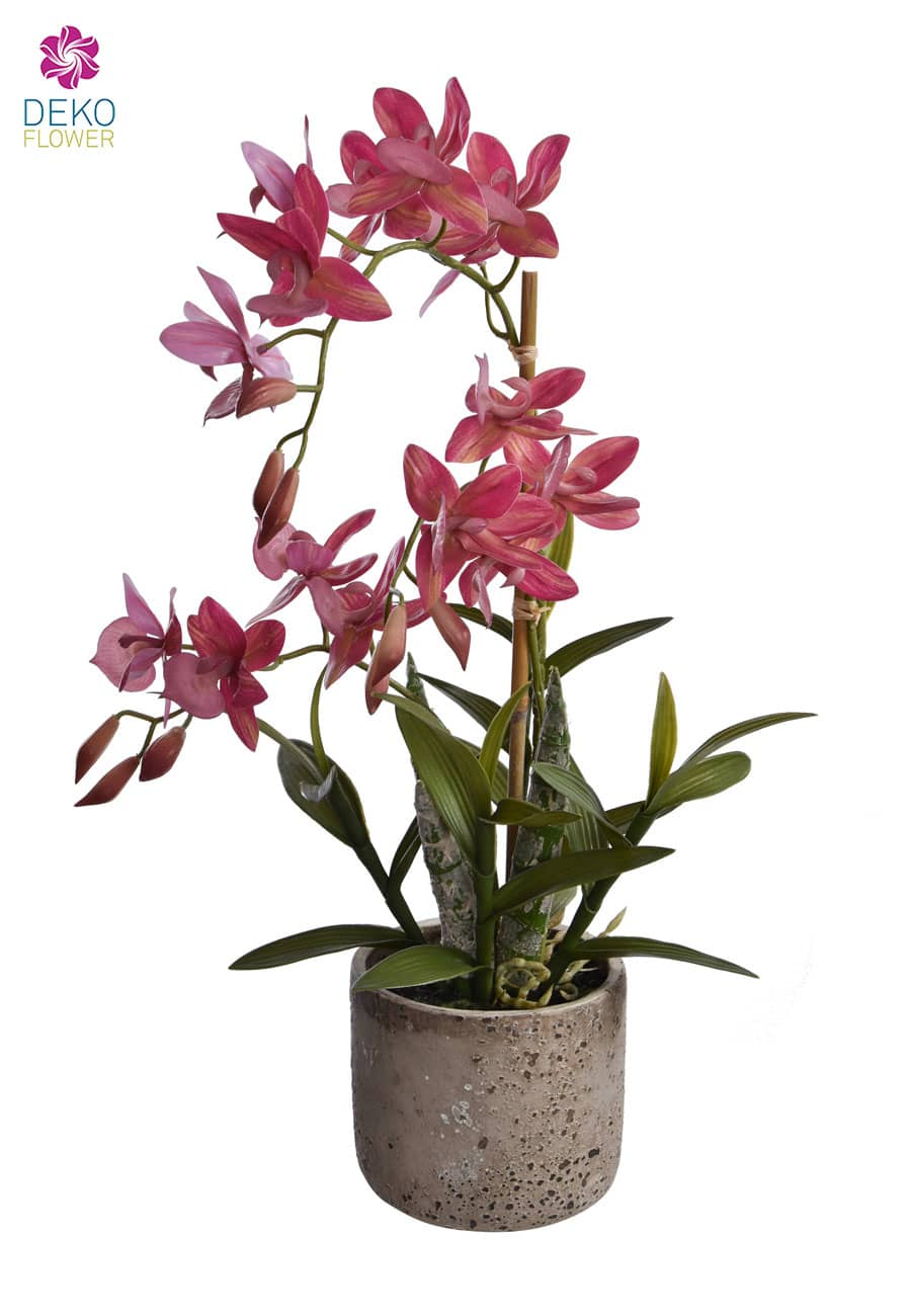 »Real Touch« Orchidee 53 cm lila