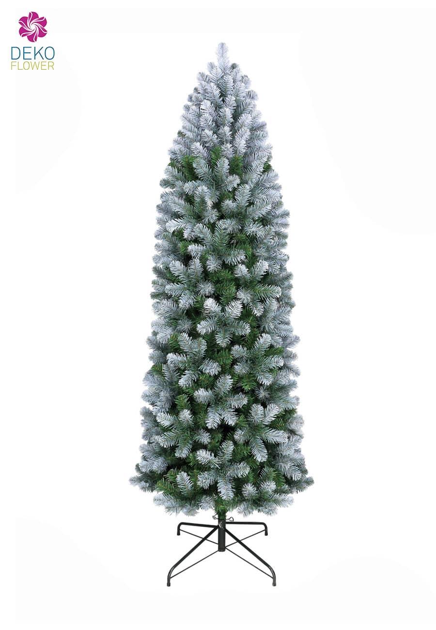 Künstlicher Weihnachtsbaum 210 cm blau grün Allegheny