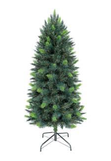 extra schlanke k nstliche weihnachtsb ume von dekoflower. Black Bedroom Furniture Sets. Home Design Ideas