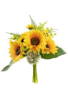 Sonnenblumenstrauß 26 cm handgebunden