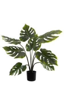 Split Philo Kunstpflanze 70 cm grün