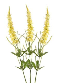 Veronica Kunstblumen gelb 103 cm 3er